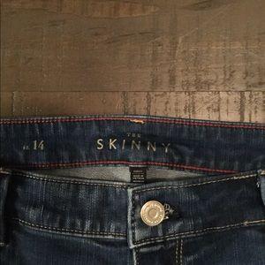 White House Black Market Jeans - White House/ Black Market size 14 skinny jeans